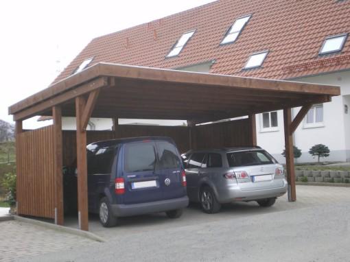 Karsten-Carports farbiger Carport