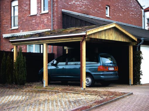 Karsten-Carports Satteldach-Carport